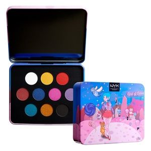 NYX Pro Makeup Land of Lollies Shadow Palette NEW